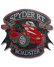 Spyder RT Red Junior Patch