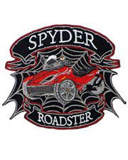 Red Spyder Roadster Junior Patch