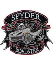 Silver Spyder Roadster Junior Patch