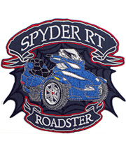 Spyder RT Blue Junior Patch