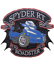 Blue Spyder RT Full Size Patch