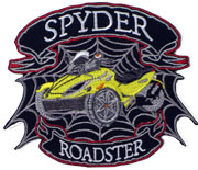 Yellow Spyder Roadster Junior Patch