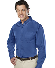Tri -Mountain Professional Long Sleeve Twill Shirt