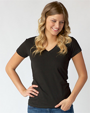 Tultex Junior Fine Jersey V-Neck Tee