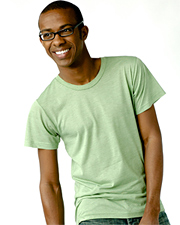 Tultex 0241  Men's Blend Tee with a Tear-Away Tag