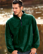 UltraClub Adult Iceberg Fleece 1/4-Zip Pullover