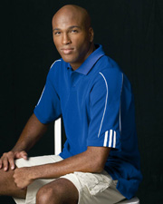Adidas Golf ClimaLite 3-Stripes Cuff Polo