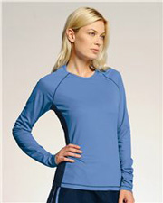 ALO Ladies' Long Sleeve Colorblock T-Shirt