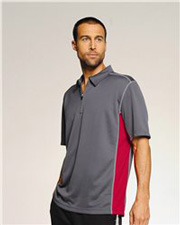ALO Short Sleeve Zip Placket Sport Shirt