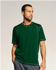 Alo Short Sleeve Pieced Interlock T-Shirt