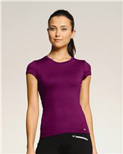 ALO Ladies' T-Shirt with Mesh Panels