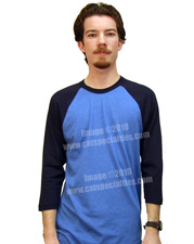 American Apparel 3/4-Sleeve Raglan T-Shirt