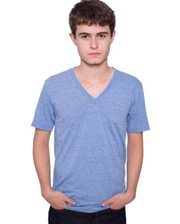 American Apparel Short Sleeve V-Neck Tee