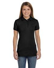 Bella Women's Mini Pique Polo