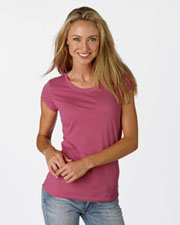Bella Women's Sheer Jersey Longer-Length T-Shirt