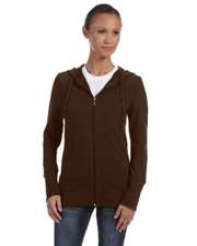 Bella Women's Stretch French Terry Lounge Jacket