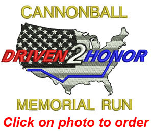 Cannonball Memorial Run Fundraiser