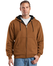 CornerStone™ - Heavyweight Full Zip Hooded Sweatshirt with Thermal Lining