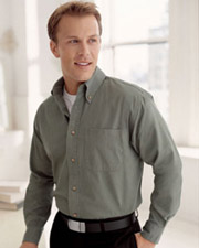 Devon & Jones Classic Men's Long-Sleeve Titan Twill