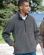 Devon & Jones Classic Wintercept™ Fleece Unisex Quarter-Zip Jacket