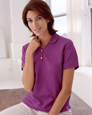 Devon & Jones Classic Ladies' Pima Piqué Short-Sleeve Polo