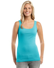 District Threads Junior Ladies Perfect Fit 1x1 Tank
