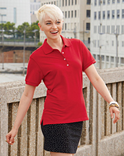 Jerzees Ladies' 6.5 oz. Cotton Pique Polo