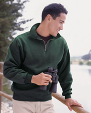 JERZEES® SUPER SWEATS - 1/4 Zip Sweatshirt with Cadet Collar