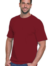 Bayside Adult Short-Sleeve Tee Made In USA