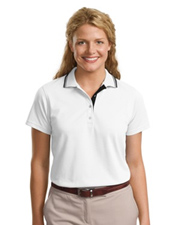 Port Authority  Signature  Ladies Rapid Dry Sport Shirt with Contrast Trim