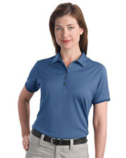 Port Authority Ladies Bamboo Charcoal Birdseye Jacquard Sport Shirt