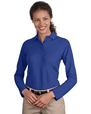 Port Authority - Ladies Silk Touch Long Sleeve Sport Shirt