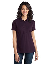 Port Authority Ladies Stretch Pique Polo