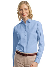 Port Authority Ladies Long Sleeve Value Poplin Shirt