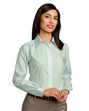 Red House™ - Ladies Non-Iron Button-Down Fine Line Shirt