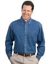 Port Authority® - Heavyweight Denim Shirt.