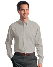 Port Authority Long Sleeve Value Poplin Shirt