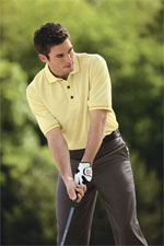 SOLAR Shield Microfiber Bubble-Textured Sport Shirt