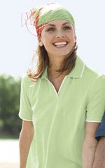 SOLAR Shield Ladies' Jacquard Sport Shirt