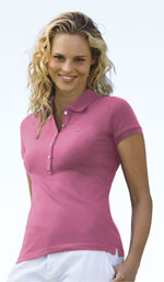 Lacoste Womens Strech Mini Pique Polo