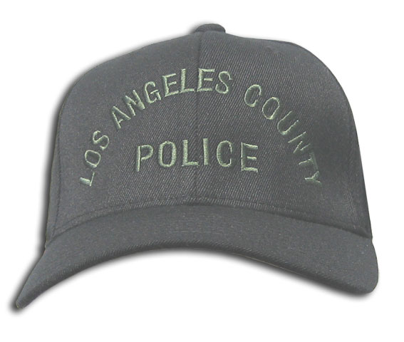 Black LA County Hat