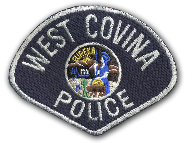 West Covina PD shoulder