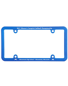 4 Holes Universal License Plate Frame