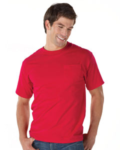 Hanes Beefy-T 100% Cotton T-Shirt with Pocket.