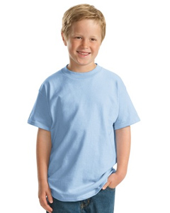 Hanes 6.1 oz RingspunCotton Youth Beefy-T®