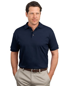 Jerzees 100% Cotton Jersey Men's Golf Shirt