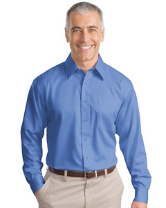 Port Authority Long Sleeve Non-Iron Twill Shirt