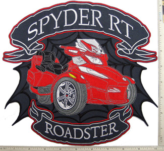 Red Spyder RT Full Size Patch