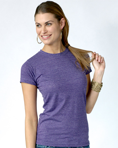 Tultex 0240 / Ladies Blend Tee with a Tear-Away Tag